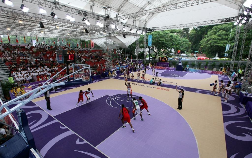 3x3 basketball Singapore 2010