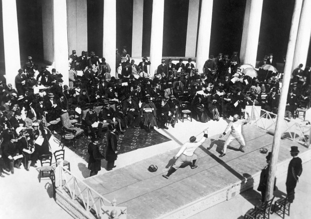 Athens 1896 fencing