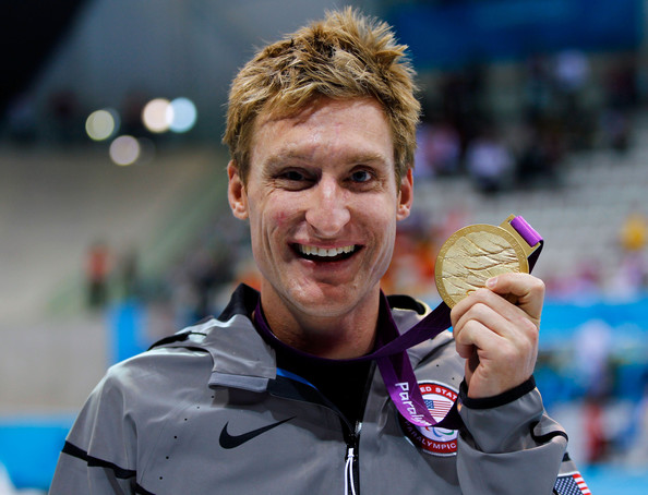 Bradley Synder with gold medal