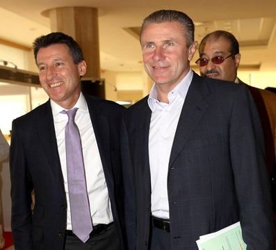 Bubka with Coe