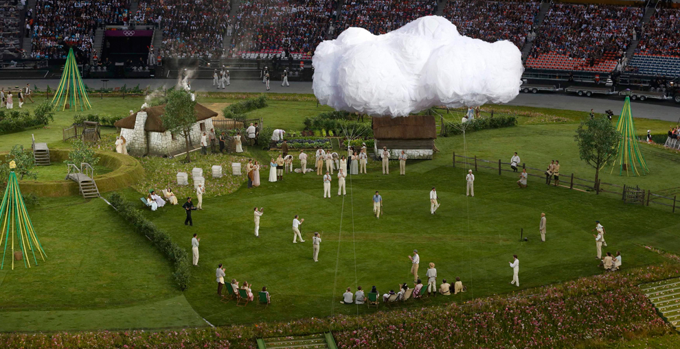 Cricket Opening Ceremony London 2012
