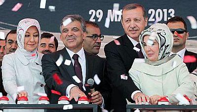 Istanbul bridge opening May 29 2013