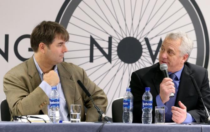 Jaimie Fuller with Greg LeMond