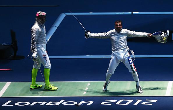London 2012 fencing 2