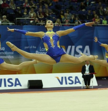 London Prepares gymnastics