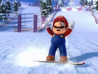 Mario  Sonic Sochi 2014
