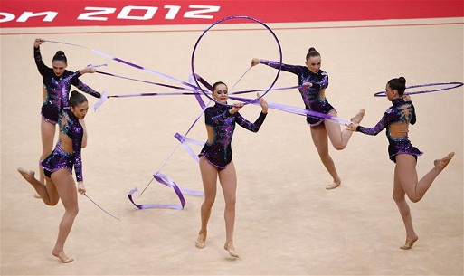 Rhythmic Gymnastics London 2012