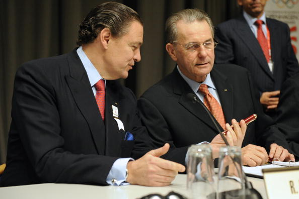 Richard Carrión is hoping to replace IOC President Jacques Rogge