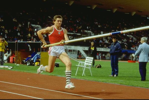 Sergey Bubka Helsinkin 1983