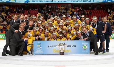 Sweden IIHF champions 2013