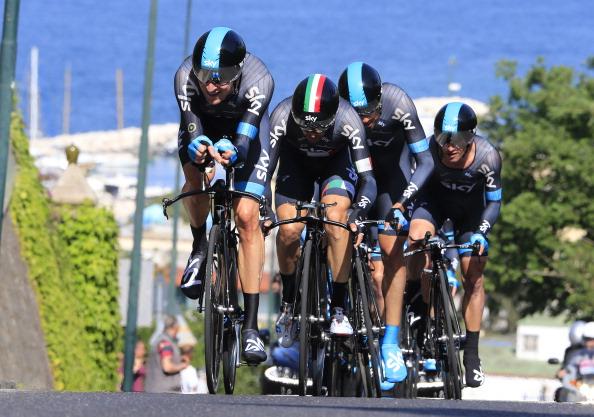 Team Sky Giro dItalia May 5 2013