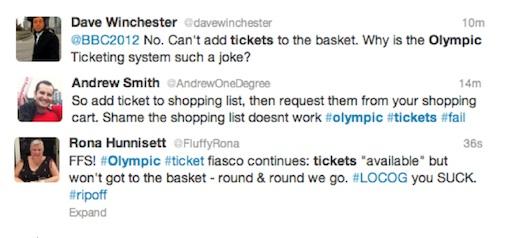 Ticketmaster London 2012