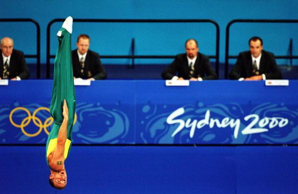 sydney 2000 olympic coin gymnastics games - photo#33