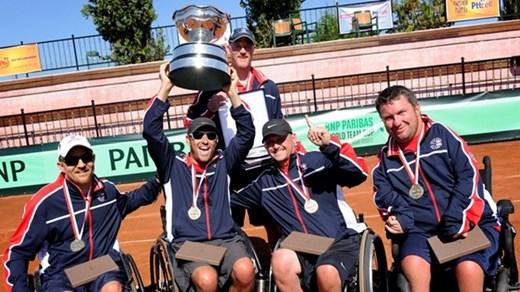 USA team celebrate win in Antalya