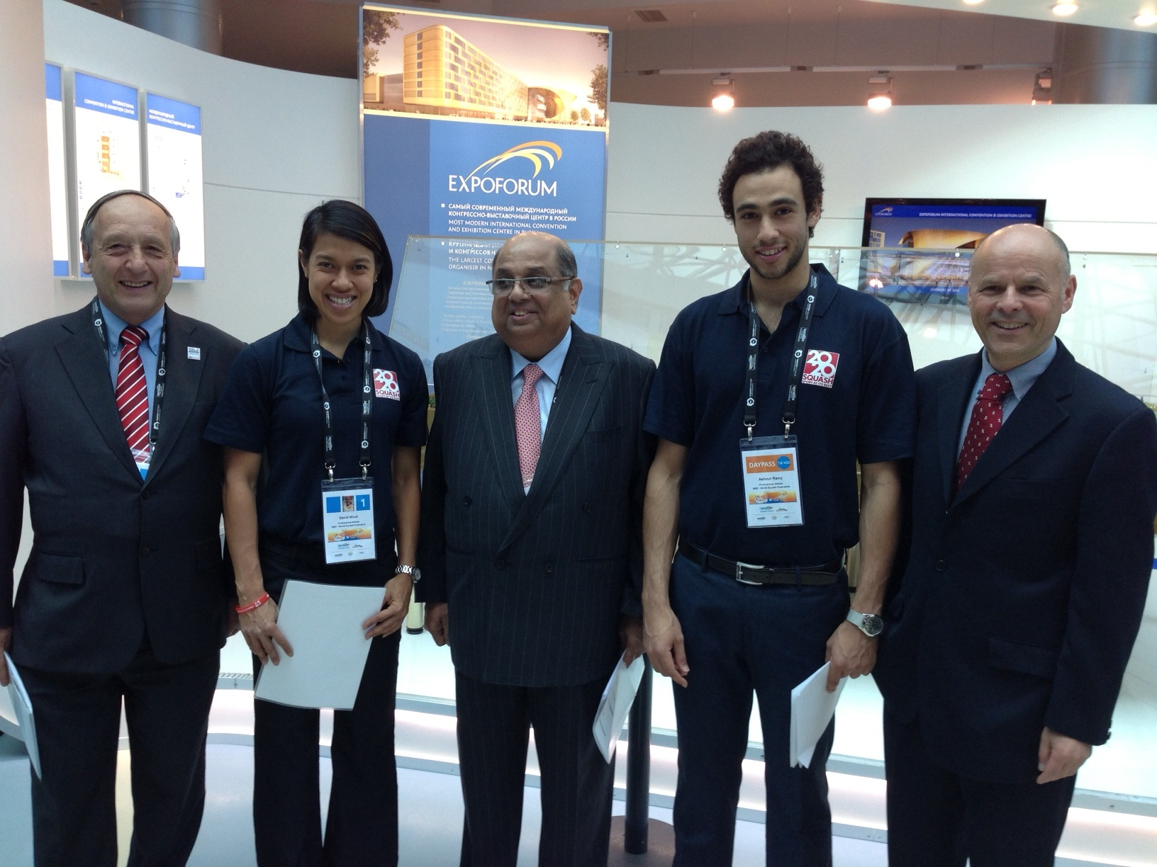 World Squash celebrate getting on shortlist for 2020 May 29 2013