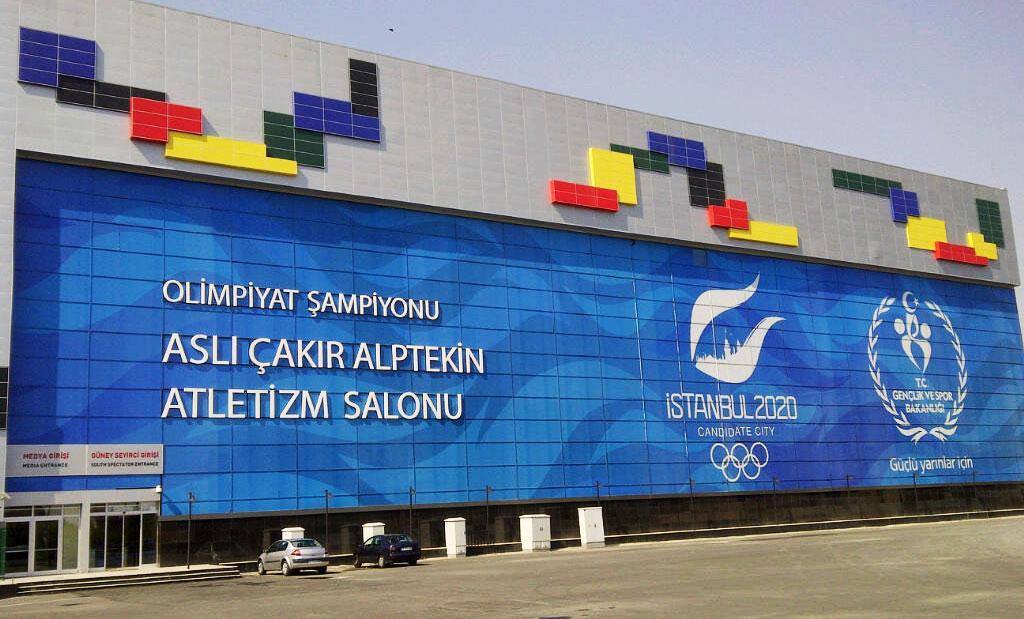 Asli Çakır Alptekin arena in Istanbul