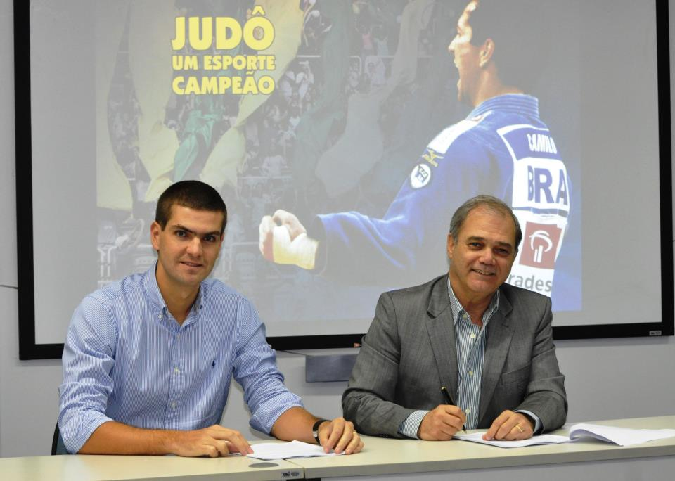 Brazilian Judo Confederation signs deal with Bradesco