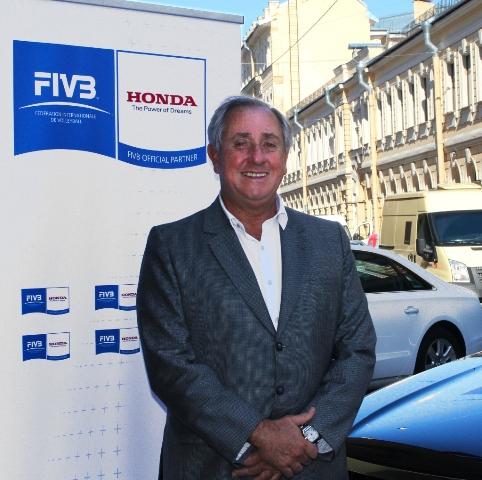 FIVB Honda deal St Petersburg May 27 2013