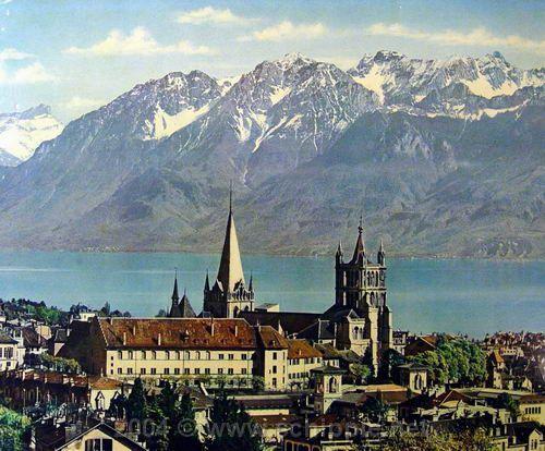 Lausanne landscape