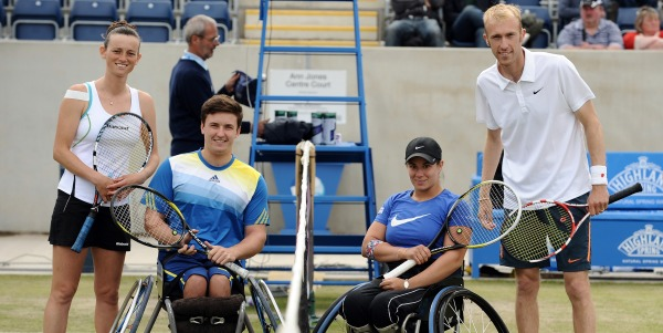 2013 Aegon Classic Disability Tennis Demo 600x300
