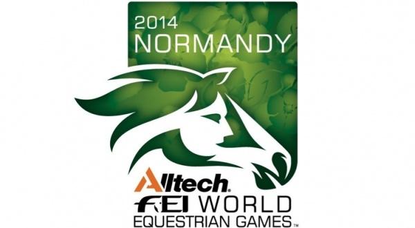 2014 World Equestrian Games logo