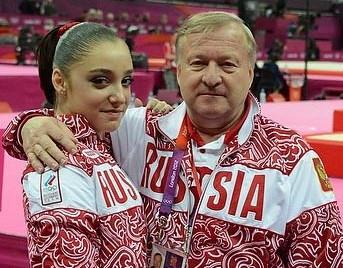 Alexander Alexandrov and Aliya Mustafina