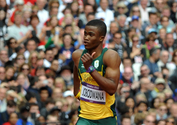 Anaso Jobodwana London 2012