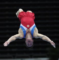 Andrey Krylov at Trampoline World Championships 2009
