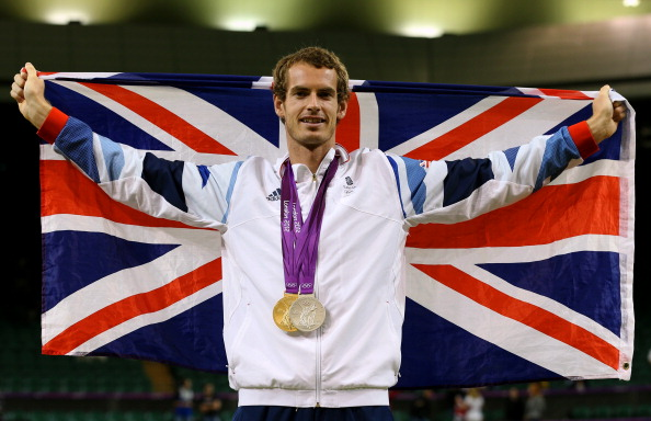 Andy Murray London 2012