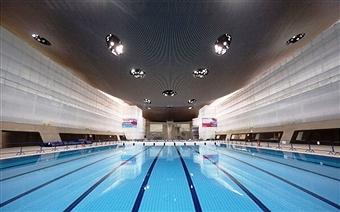 Aquatics Centre Inside