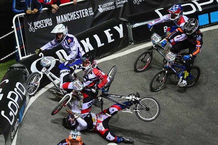BMX Supercross World Cup Manchester 2013