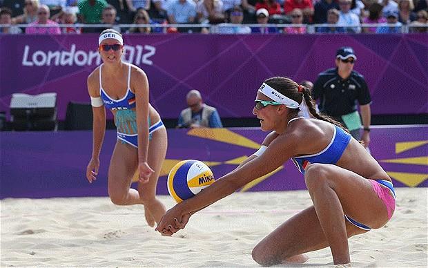 Beach volleyball London 2012