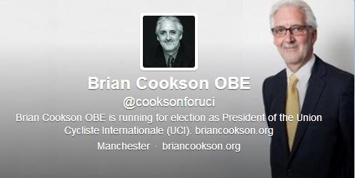 Brian Cookson twitter