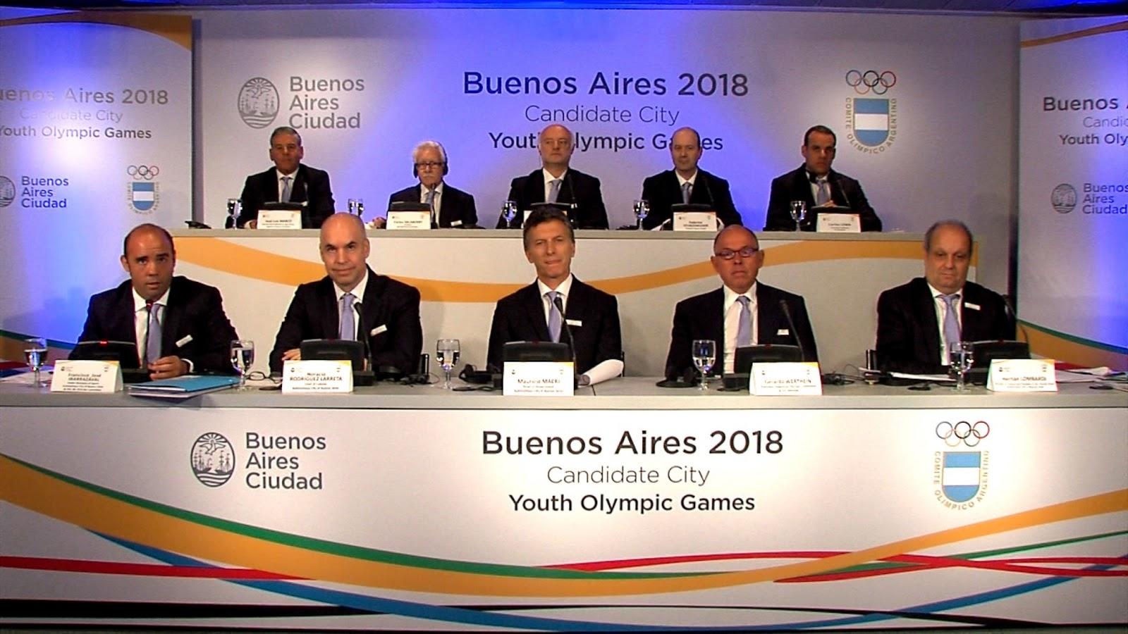 Buenos Aires candidata a los Juegos Olimpicos de la Juventud 2018