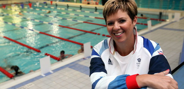 Dawn Peart Team GB manager