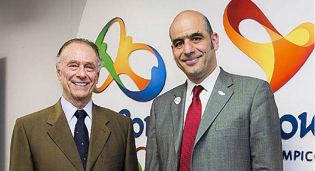 Essar Gabriel with Carlos Nuzman Rio