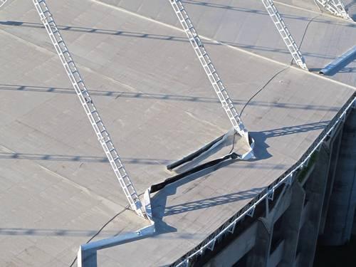 Estádio Olímpico João Havelange roof