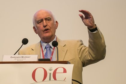 Gardner Murray addressed delegates at the OIE General Session 2013
