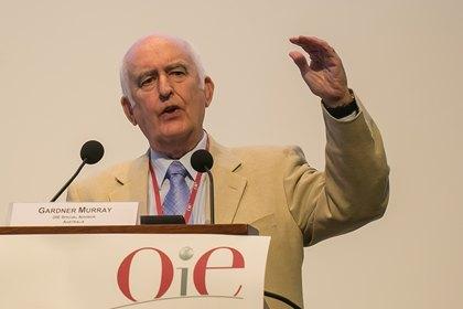 Gardner Murray addressed delegates at the OIE General Session 2013