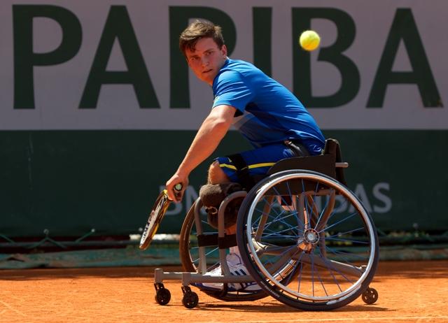 Gordon Reid wheelchair tennis Paris June 5 2013