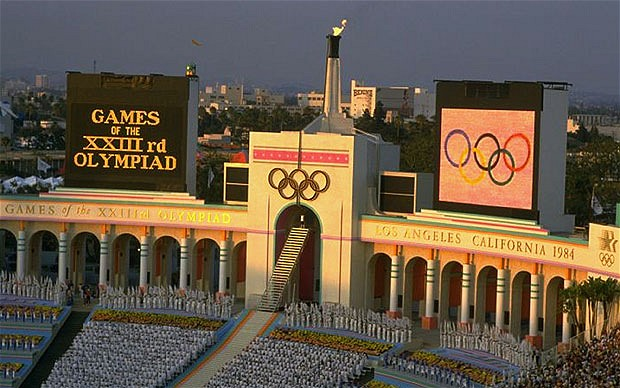 Los Angeles 1984 Opening Ceremony