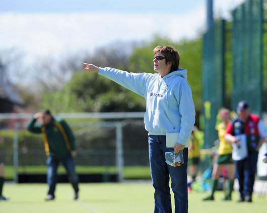 Mary Logue Ireland womens hockey coach