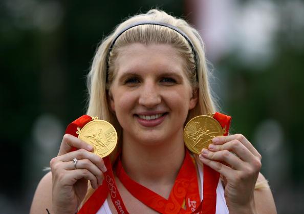 Rebecca Adlington Beijing 2008 medals