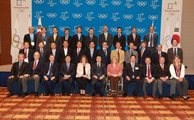 The IOC Coordination Commission for the PyeongChang 2018 Olympic Winter Games during their two-day session in Korea