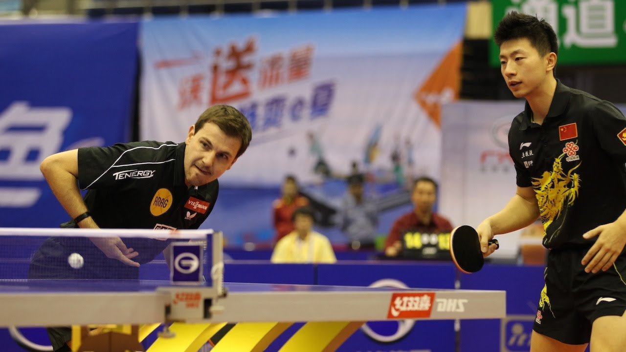 Timo Boll Ma Long doubles