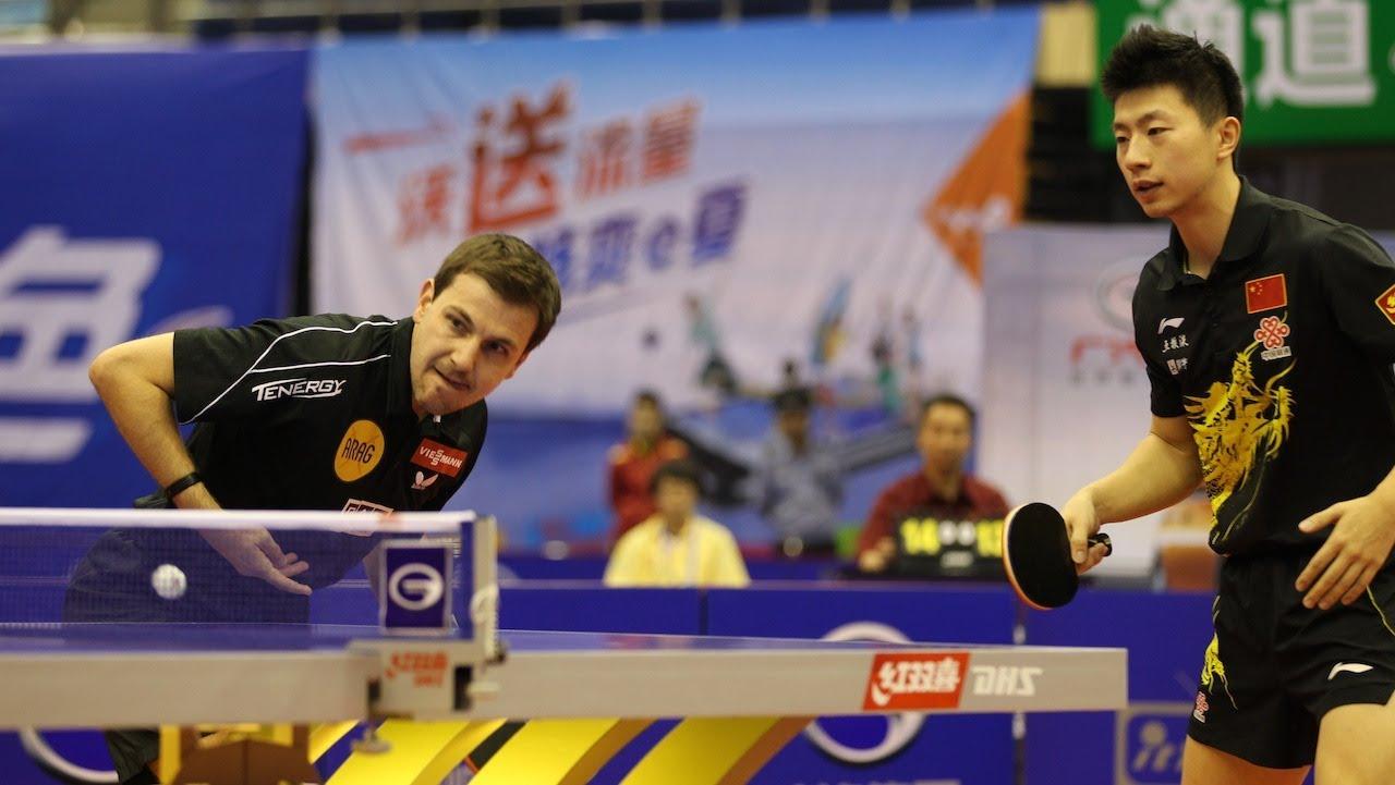 Timo Boll Ma Long doubles