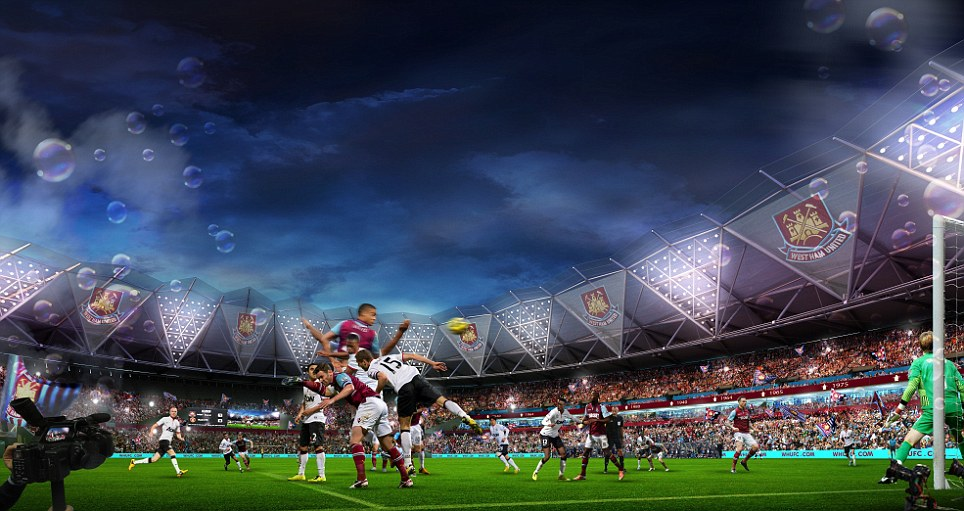 West Ham Olympic Stadium image