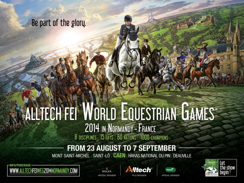 World Equestrian Games 2014 poster