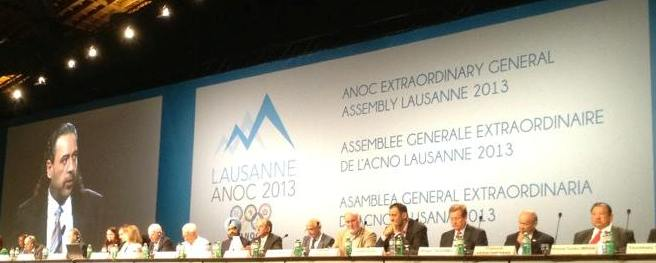 ANOC Extraordinary General Meeting Lausanne June 15 2013