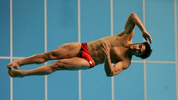 Alexander Despatie diving